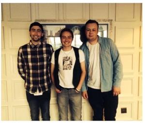 Matt, Pete and Jack