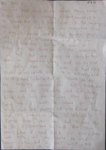 Leah's Letter June 2013