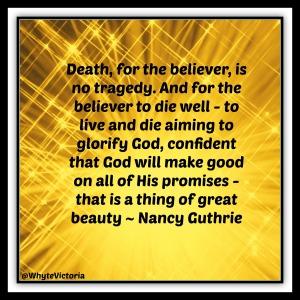 Nancy Guthrie on death