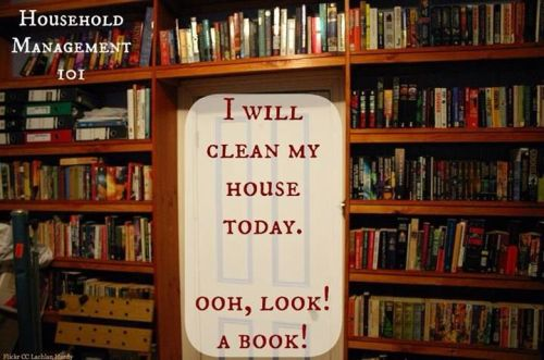 Cleaning vs reading
