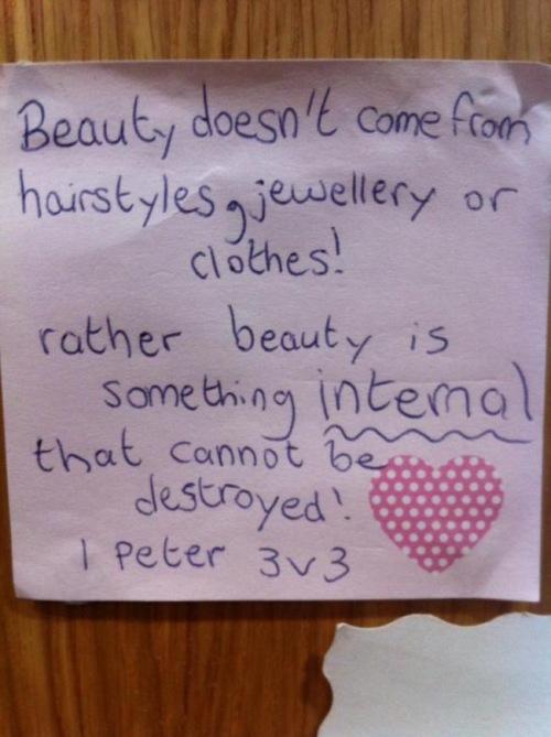 I Peter 3 v 3