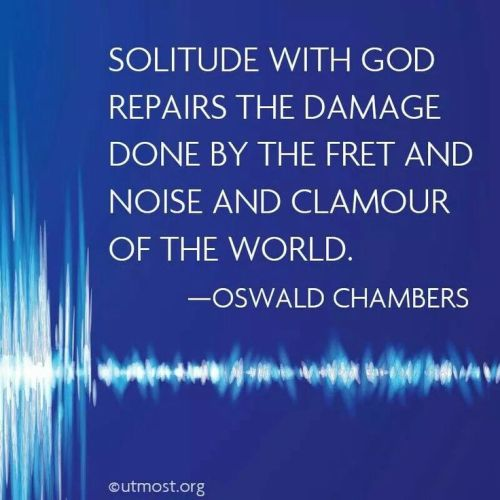 solitude-with-god