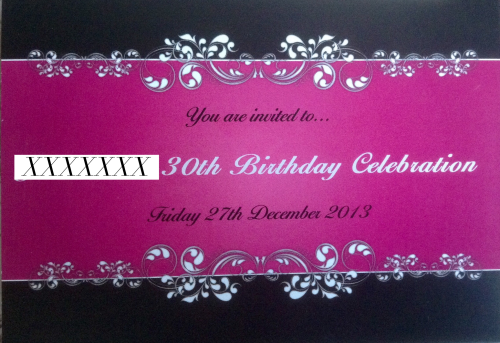 30th-birthday-invite